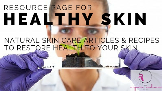 Healthy Skin Resource Page